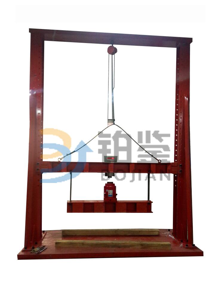 BJHPW-500KN 混凝土排水管外压试验机(手动加载)