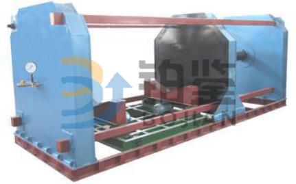 2m混凝土排水管内水压试验机(液压加紧)