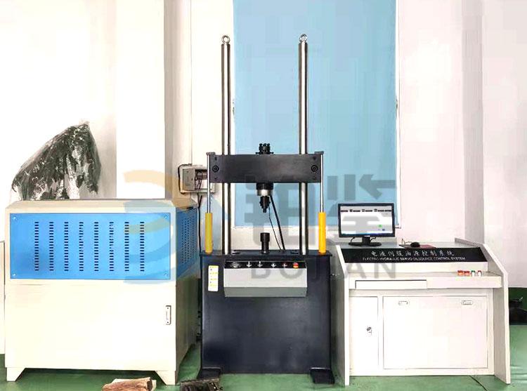 BJWPW-500D 电液伺服钢绞线疲劳试验机