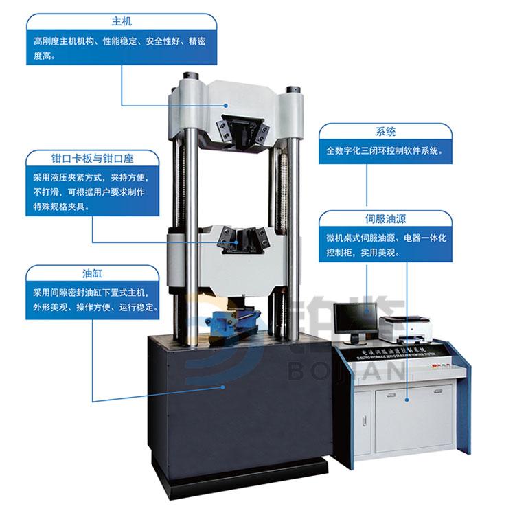 BJWA-W D系列 微机控制伺服式液压万能试验机